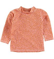 Soft Gallery Badebluse - UV50+ - Rose Cloud m. Leopard