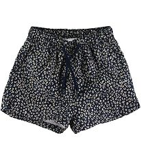 Soft Gallery Badeshorts - UV50+ - Edison - Dress Blue m. Leopard