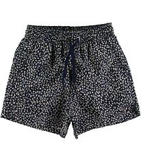 Soft Gallery Badeshorts - UV50+ - Dandy - Dress Blue m. Leopard