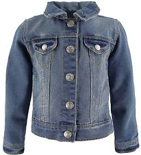 Name It Denimjakke - Star - Noos  - Medium Blue Denim