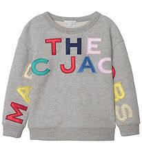 Little Marc Jacobs Bluse - Gråmeleret