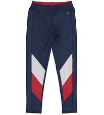 Tommy Hilfiger Tights - Sport Colorblock - Navy