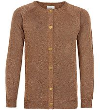 The New Cardigan - Aya - Mocha Bisque m. Glimmer