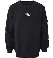 Hound Sweatshirt - Crew Neck - Sort