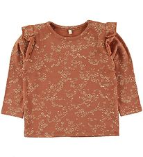 Soft Gallery Bluse - Bella - Autumn Leaf/Flowerdust