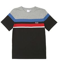 BOSS T-shirt - Casual 2 - Sort m. Striber