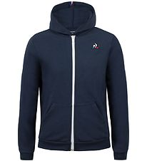 Le Coq Sportif Hættetrøje - ESS FZ - Dress Blues
