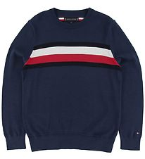 Tommy Hilfiger Bluse - Essential - Navy