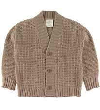 Gro Cardigan - Jytte - Uld - Taupe