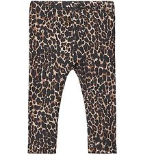 Name It Leggings - NbfKala - Mole m. Leopard