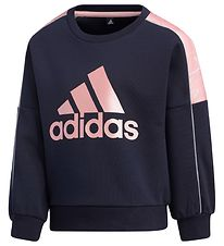 adidas Performance Bluse - Navy/Rosa