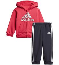 adidas Performance Sweatsæt - Pink/Navy