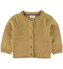 Mini A Ture Cardigan - Uld - Adelina - Sweet Curry