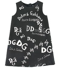 Dolce & Gabbana Kjole - Back To School - Sort m. Print