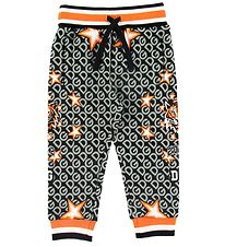 Dolce & Gabbana Sweatpants - Jungle Sport - Grå/Orange