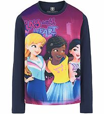 Lego Friends Bluse - Dark Navy m. Print