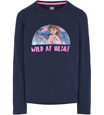 Lego Friends Bluse - Dark Navy m. Olivia