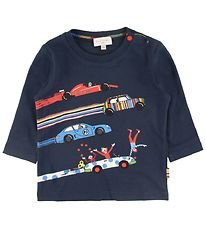 Paul Smith Baby Bluse - Bitor - Navy m. Biler