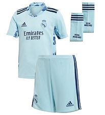 adidas Performance Målmandssæt - Real Madrid - Lyseblå
