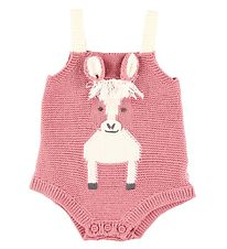 Stella McCartney Kids Body - Strik - Horse - Støvet Rosa