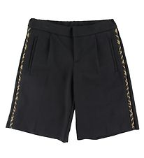 Fendi Shorts - Sort m. Logo