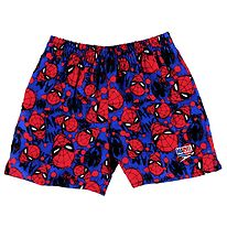 Speedo Badeshorts - Spiderman Allover - Rød/Blå