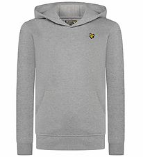 Lyle & Scott Hættetrøje - Vintage Grey Heather