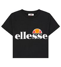 Ellesse T-shirt - Cropped - Nicky - Sort