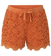 Rosemunde Shorts - Dusty Orange m. Blonder