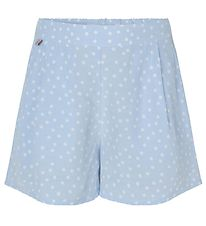 Rosemunde Shorts - Heather Sky Organic Dot
