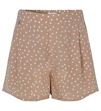 Rosemunde Shorts - Tan Organic Dot