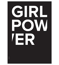 I Love My Type Plakat - 50x70 - The Powerful Type - Girl Power