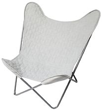 Sebra Stol - Butterfly Chair - Grå