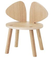 Nofred Børnestol - Mouse Chair - Matt Lacquered Oak