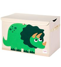 3 Sprouts Opbevaringkasse - 38x61x37 - Dinosaur