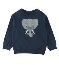 DYR Sweatshirt - Bellow - Navy m. Elefant