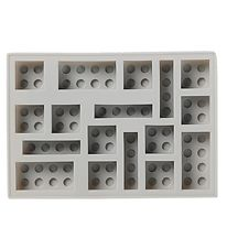 Lego Storage Isterningebakke - 17x12 cm - Medium Stone Grey