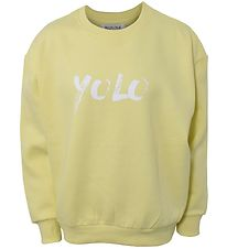 Hound x Ella Augusta Sweatshirt - Lemon Yellow