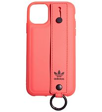 adidas Originals Cover - iPhone 11 - Neon m. Hand Strap