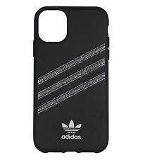 adidas Originals Cover - iPhone 11 - Sort m. Glitter