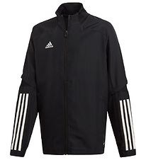adidas Performance Cardigan - Con20 - Sort m. Hvid