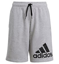 adidas Performance Shorts - BL - Gråmeleret/Sort