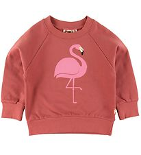 DYR Sweatshirt - Bellow - Rose m. Flamingo