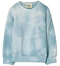 Finger In The Nose Sweatshirt - Wind - Cloud Blue Tie & Dye
