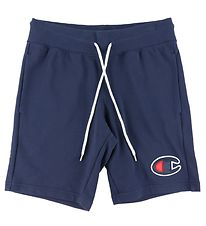 Champion Fashion Shorts - Navy m. Logo