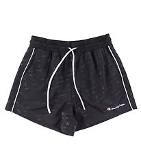 Champion Fashion Shorts - Sort m. Logoer