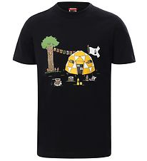 The North Face T-shirt - Sort m. Print