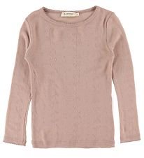 MarMar Bluse - Tamra - Uld - Burnt Rose