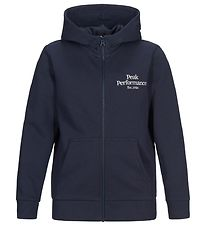 Peak Performance Cardigan - Original - Blue Shadow
