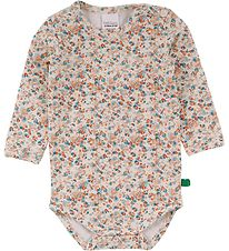 Freds World Body l/æ - Mini - Creme m. Blomster